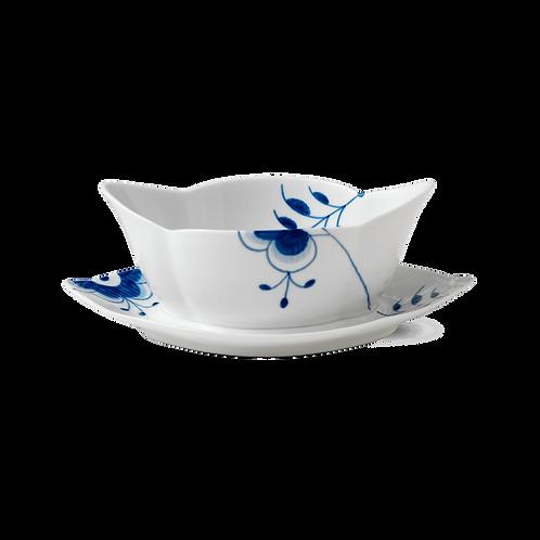 Royal Copenhagen Blue Fluted Mega Sauce Boat - 55cl