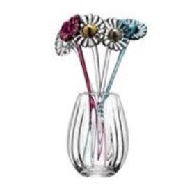 LSA Gerbera Vase H20cm Clear