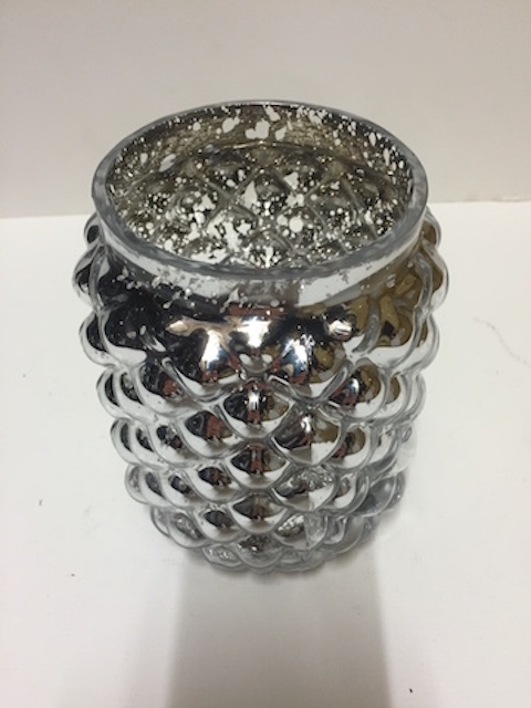 Pineapple effect vase