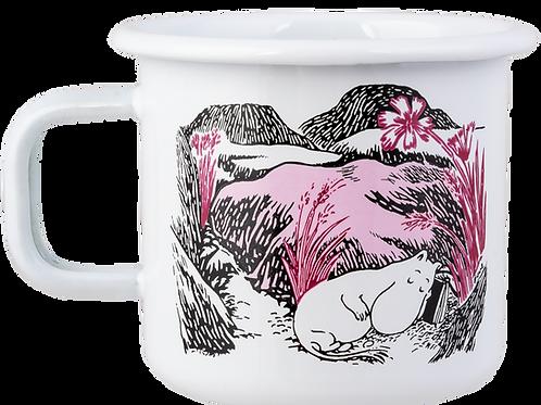 Moomin Originals Enamel Mug - Nap In The Meadow