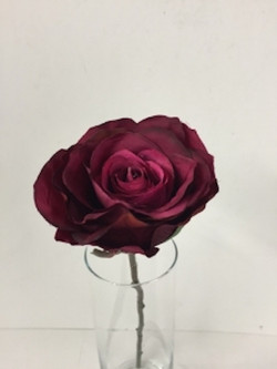 Artificial Rose - Dark Pink