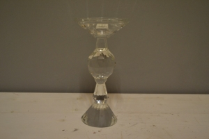 Glass Crystal Candlestick