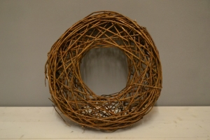 Crossed Twig Ring