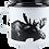 Muurla Nordic Enamel Mug Large - The Moose - outdoor mug