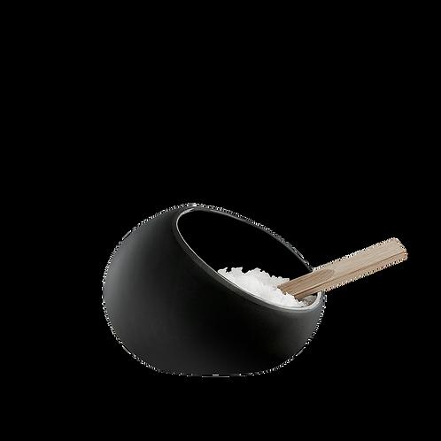 Rosendahl Salt Cellar and Spoon - Black