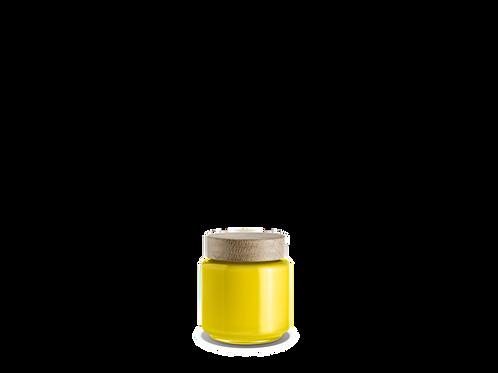 Holmegaard Palet Storage Jar - Yellow