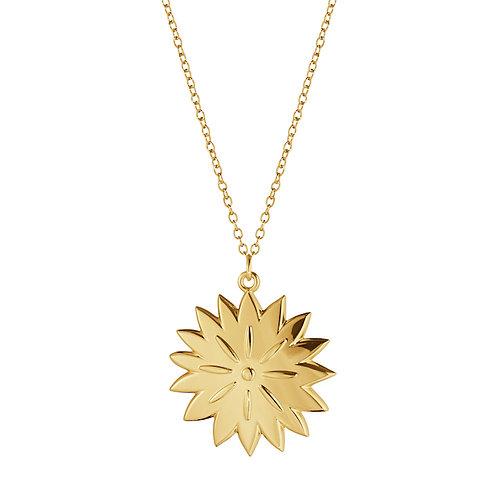 Georg Jensen 2020 Christmas Ornament - Ice Dianthus - Gold