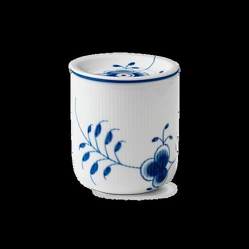 Royal Copenhagen Blue Fluted Mega Storage Jar - Medium - 80cl