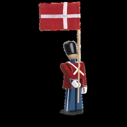 Kay Bojesen Standard-Bearer with Textile Flag