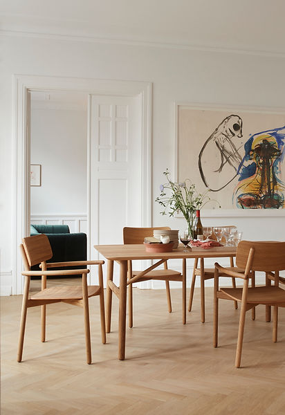Skagerak Hven table and chairs - scandinavian furniture - blomster designs - uk stockists