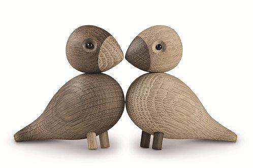 KAY BOJESEN'S LOVEBIRDS - 2 PCS IN OAK Kay Bojesen's Lovebirds - 2 pcs in oak