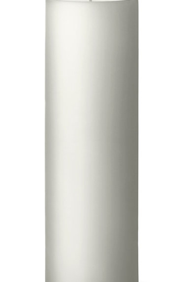 Ester & Erik White Pillar Candle 31 - 20cm - Matt