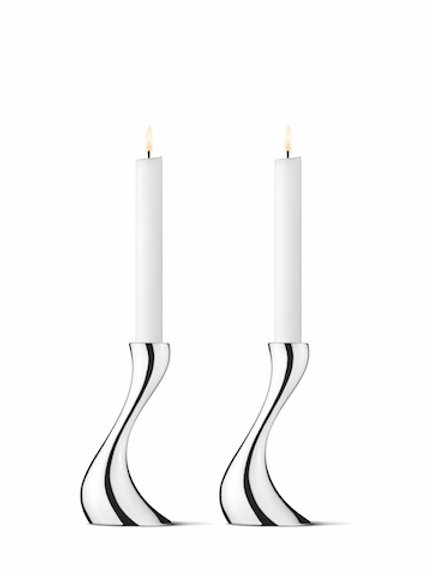 Georg Jensen Cobra Candleholders - set of 2
