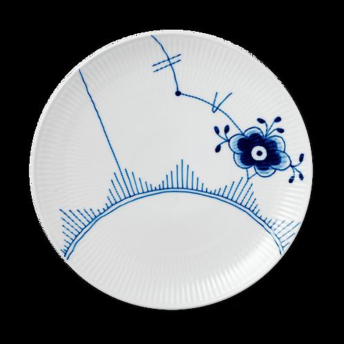 Royal Copenhagen Blue Fluted Mega Plate, Coupe - 27cm