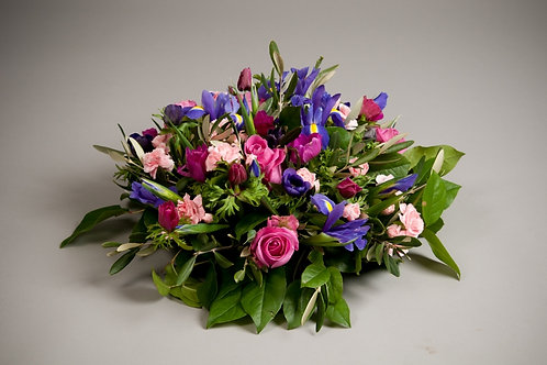 Mixed Posy Arrangement - funeral flowers