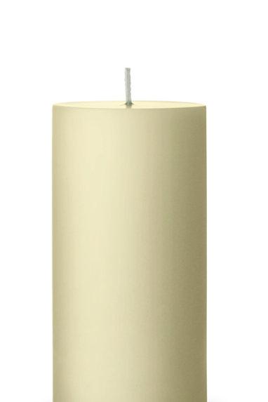 Ester & Erik Green Linden Pillar Candle 61 - 15cm - Matt