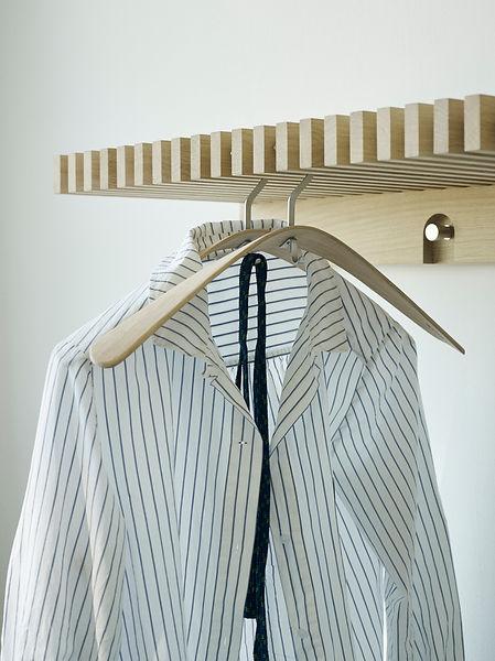 Skagerak - cutter wardrobe - pilot coat hanger - blomster designs - uk stockists