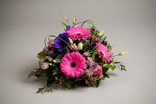 Loose Posy Arrangement - funeral flowers