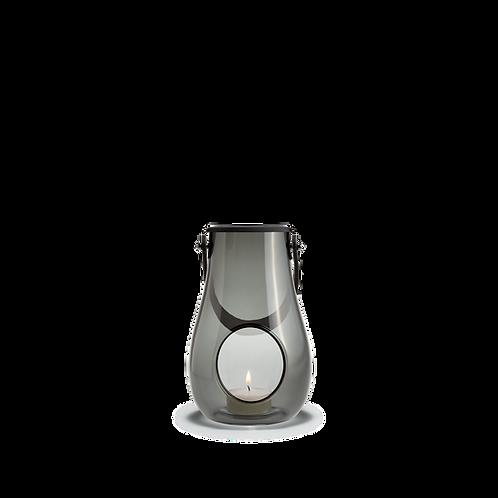 Holmegaard Design with Light - Glass Lantern Smoke - 16cm
