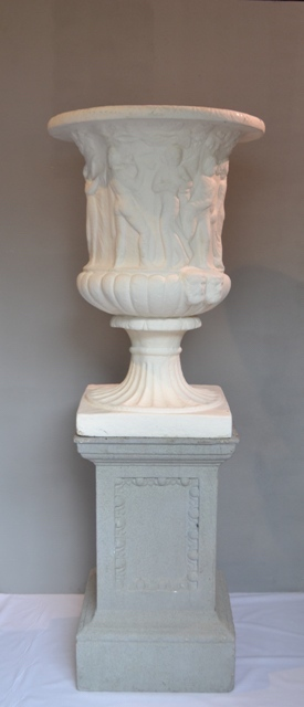 Pedestal Stone Effect Grey