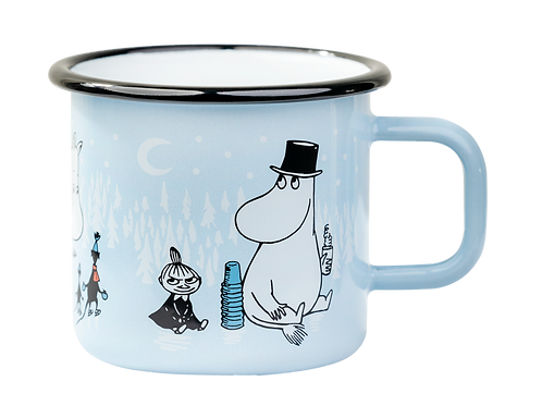 Moomin Enamel Mug - Day On Ice