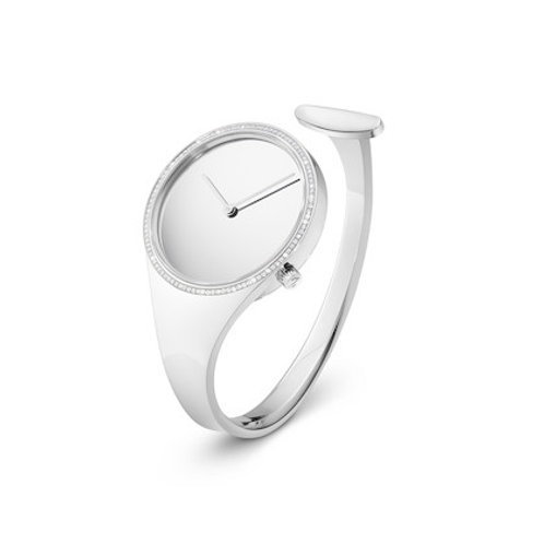 Georg Jensen Vivianna Watch 34mm - Quartz - Mirror Dial Diamond Bezel