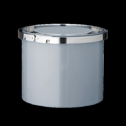 Stelton Arne Jacobsen Ice Bucket 1L - Enamel - Smokey Blue
