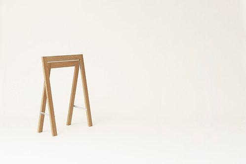 Form and Refine Austere Trestle - White Oak - Set of 2