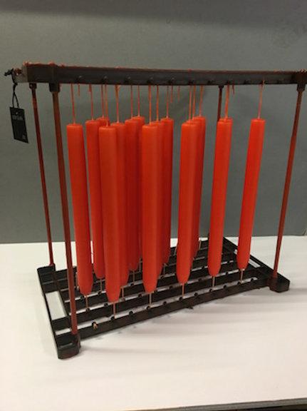 Ester & Erik Orange Dark Cylindrical Candle 16-2
