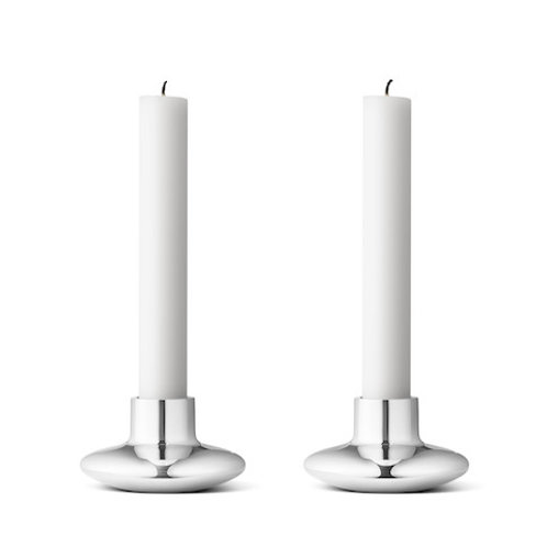 Georg Jensen Henning Koppel Candleholder - 2 pcs