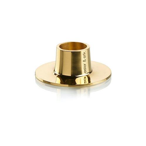 Ester & Erik Candle Holder - Shiny Gold - Set of 2 - Medium