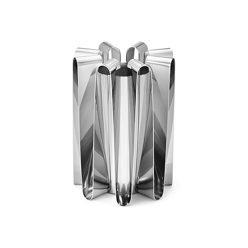 Georg Jensen Frequency Centerpiece Vase - Large - Stainless Steel