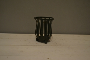 Rustic Wrought Iron Wine Goblet