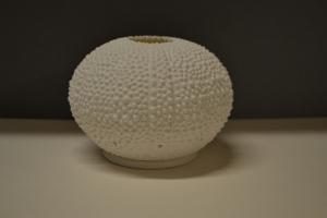Ceramic Sea Urchin Votive