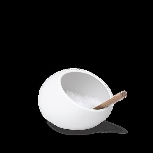 Rosendahl Salt Cellar and Spoon - White