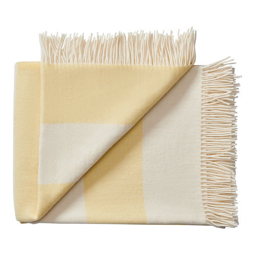 Silkeborge Uldspinderi - The Sweater Throw - Yellow