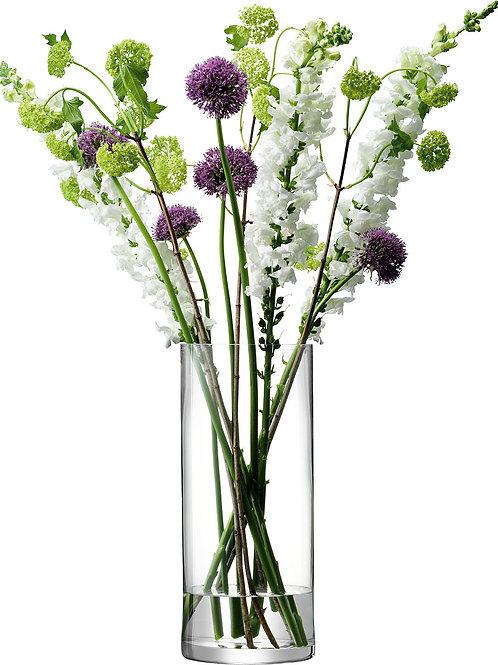 LSA Column Vase H24cm Clear