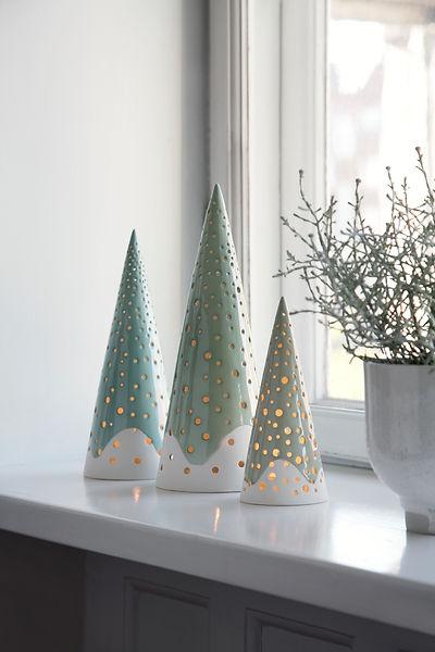Kahler Nobili Candle Holders - blomster designs - uk stockists