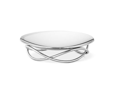 Georg Jensen Glow Candleholder Dish - Silver