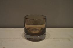 Mocha Glass Tumbler Vase