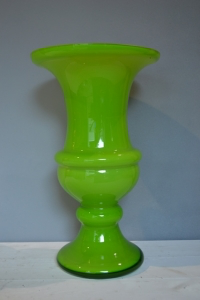 Green Glass Urn