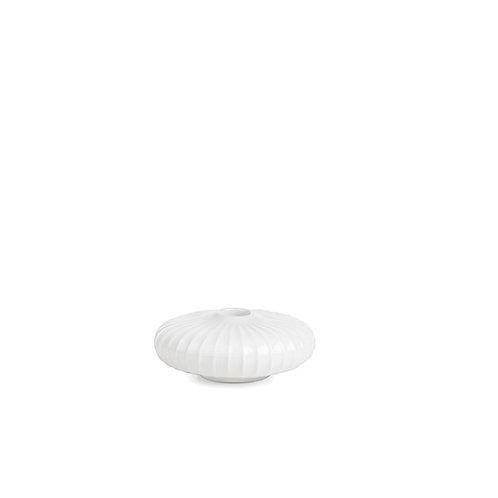 Kahler Hammershøi Candle Holder - White - Mini