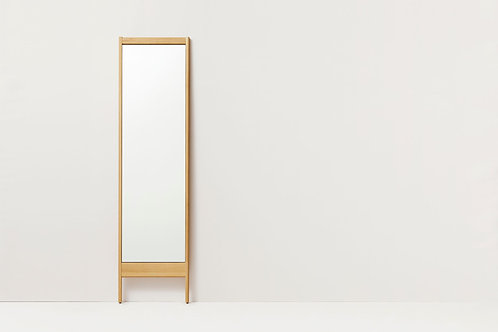 Form and Refine, A Line Mirror -  Oak
