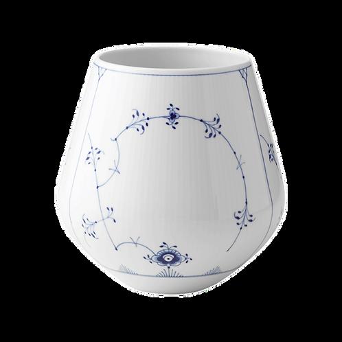 Royal Copenhagen Blue Fluted Plain Vase - 20.5cm