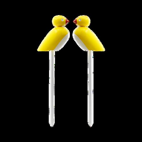 Kay Bojesen - Sparrows on sticks - 2pcs