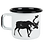 Muurla Nordic Enamel Mug - The Deer - uk stockists