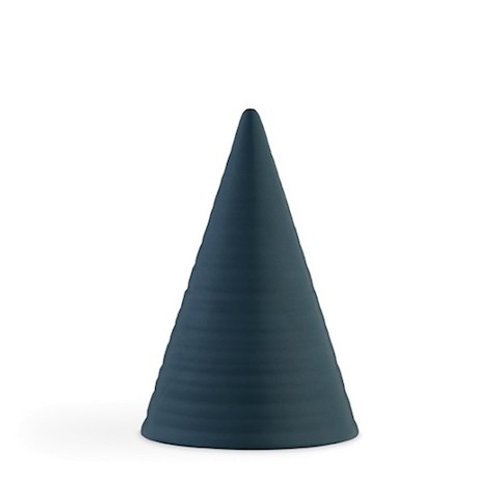 Kahler Glazed Cone - Teal Blue - B92