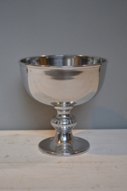 Silver Metal Goblet
