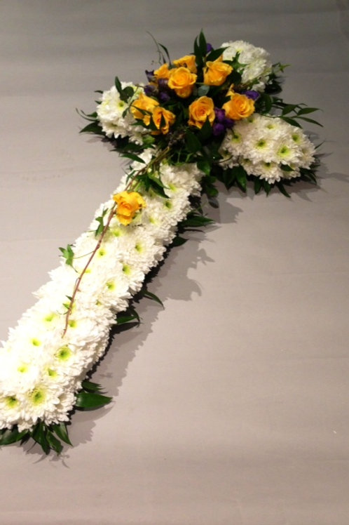 Based Cross Tribute - funeral cross