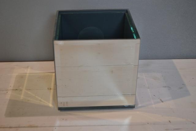 Mirrored Cube 14cm
